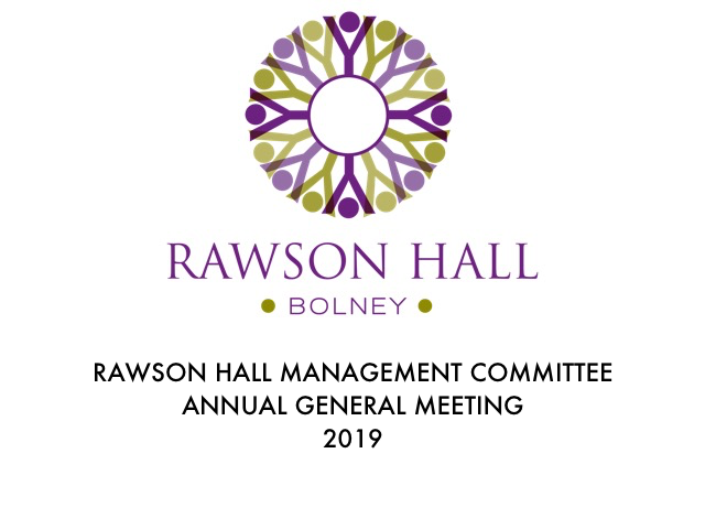 Notice of Annual General Meeting – 2019
